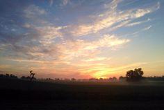 Sunrise near Owensboro KY 08142014