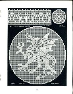 Stone Hill Collectibles - Original 1915 Filet Crochet Gift Novelties Book 5 Kirchmaier