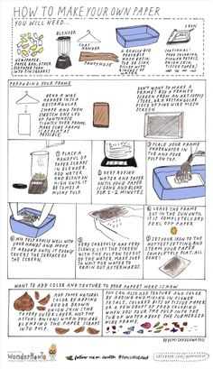 How to Make Your Own Recycled Paper at Home