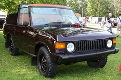 Goodwood Festival of Speed 2012 - 1974 #RangeRover (State 1 Royal Review Vehicle) by growler2ndrow, via Flickr