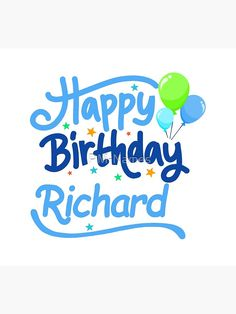 'Happy Birthday Richard' Grußkarte von PM-Names Happy Birthday Male Friend, Happy Birthday Daddy, Happy Birthday Beautiful, Happy Birthday Images, Happy Birthday Greetings, Birthday Wishes For Lover, Birthday Wishes Messages, Birthday Quotes, Birthday Cards
