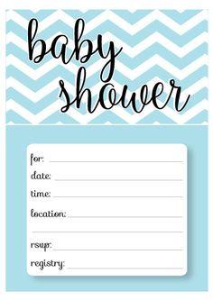 free printable baby shower invitation templates   fonts, labels, Baby shower invitations