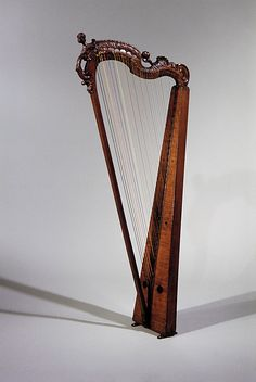 18th Century German Harp