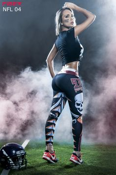 Show your love for the Tampa Bay Buccaneers in these exclusive leggings made…