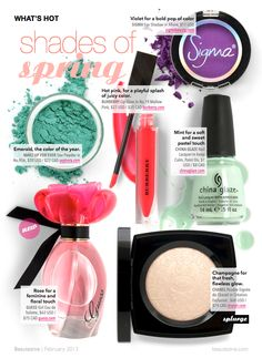 What's Hot: Shades of Spring | Beautezine