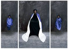 "Artist Maïmouna Guerresi's series Giants is inspired by the ""greatness and spiritual beauty"" of African Muslim saints"