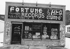 atomicfleck:Fortune / Hi-Q Records, Detroit, 1950s.
