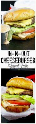 COPYCAT IN-N-OUT BURGER - Easy Food