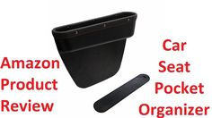 cool Amazon Product Review - Car Seat Pocket Organizer