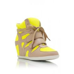 yellow wedged sneakers - Google Search
