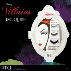 Be the apple of their eyes with the Evil Queen-themed gift of lash. Transform from shimmering sorceress to Her Royal Highness of glam. © Disney #ArdellLashes #DisneyVillains #DisneyVillainsBeauty #EvilQueen