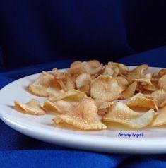 AranyTepsi: Csicsóka chips Izu, Apple Pie, French Toast, Chips, Breakfast, Desserts, Food, Morning Coffee, Tailgate Desserts
