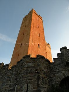 Kilcoe Castle near Skibbereen West Cork, Ireland. Owned by Jeremy Irons.