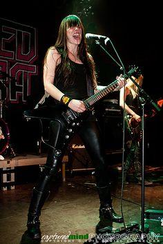 Women Of Rock, Female Guitarist, Guitar Songs, Metal Girl, Alternative Music, Goth Girls, Rock Music, Heavy Metal, Rock And Roll