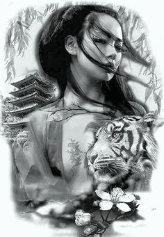 50 Amazing Geisha Tattoos Designs and Ideas For Men And Women Los mejores tatuajes de geishas Geisha Tattoos, Geisha Tattoo Design, Irezumi Tattoos, Geisha Tattoo Sleeve, Bild Tattoos, Body Art Tattoos, Sleeve Tattoos, Cool Tattoos, Men Tattoos