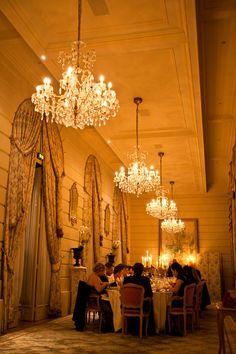 wedding reception at the ritz hotel in paris, france #wedding #reception #paris