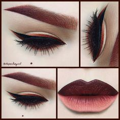 stila eyeliner in burnt orange - Google Search