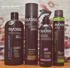 Review: 4 produse Syoss Professional
