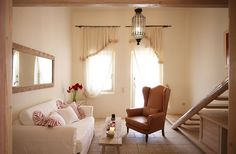 Corali. Probably the smallest but the cutest suite in Aigis Suites, Kea, Greece.