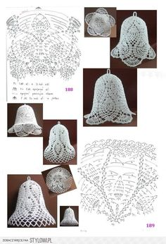 Ideas crochet christmas decorations diagram for 2019 Crochet Snowflake Pattern, Christmas Crochet Patterns, Holiday Crochet, Crochet Snowflakes, Crochet Doilies, Crochet Flowers, Filet Crochet, Crochet Diagram, Thread Crochet