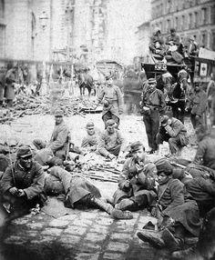 Commune de Paris - Mars 1871 - Féderés.