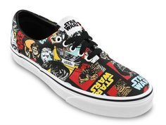 VANS CLASSIC AUTHENTIC ERA STAR WARS REPEAT US 4 MEN/US 5.5 WOMEN SNEAKERS  SHOES
