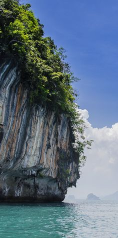 Exploring the islands and towering limestone cliffs off of the coast of beautiful Krabi, Thailand
