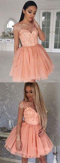 A-line Bateau Short/Mini Short Tulle Homecoming Dress,Short Prom Dress,Cheap Homecoming Dresses,Cheap Evening Dress,Homecoming Dresses Cheap,Quality Dresses,Party Dress,Fashion Prom Dress,Prom Gowns,Dresses for Girls,Prom Dress,Simple Prom Dresses