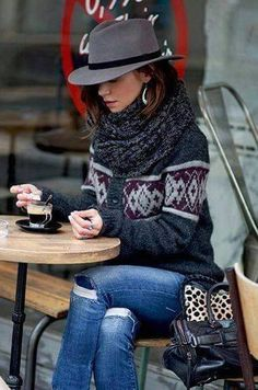 casual / laid back winter look Look Fashion, Teen Fashion, Fashion Outfits, Womens Fashion, Fashion Design, Fashion Trends, Looks Street Style, Looks Style, Fall Winter Outfits
