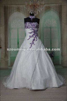 White And Purple Wedding Dresses So That You Are Getting Married Overseas Might Now Be Wondering About How Best To