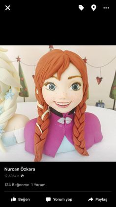 Frozen anna Anna Frozen, Disney Characters, Fictional Characters, Disney Princess, Art, Art Background, Ana Frozen, Kunst, Fantasy Characters