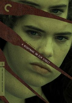 """Fake Criterion cover for """"A Nightmare On Elm Street"""" (1984) Wes Craven."""