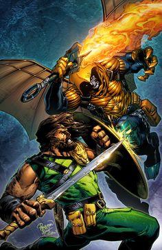 Hobgoblin by Carlo Pagulayan Comic Book Villains, Comic Book Characters, Comic Books, Marvel Vs, Marvel Dc Comics, Cosmic Comics, Hercules Marvel, Hercules Movie, Hobgoblin
