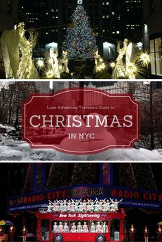 Luxe Adventure Traveler's Guide to Christmas in NYC