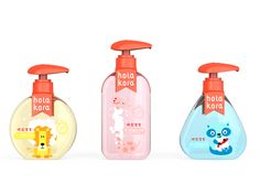 392d346d66b HOLA KORA BABY CHILDREN S WASHING SETS SKINCARE BODY CARE BOTTLE DESIGN  COSMETIC beauty MAKEUP PACKAGE DESIGN - by NIANXIANG 念相设计www.nx-design.net