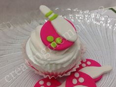 BOWLING FONDANT Cupcake, cake or cookie Toppers. Bowling Pin on Pink Bowling Ball Fondant. You can chose colors.