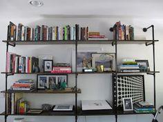 Amber Interior Design: DIY Bookcase