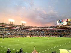 Tigres UANL  Soccer Stadium great place  in monterrey Mexico  My soccer team!