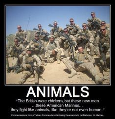 Love Our Marines!!! Animals: 1st Battalion 2nd Marines - 3rd Platoon Charlie Company.