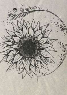 bohemian tattoos - Google-søgning #hippie_sunflower_tattoo