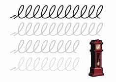 Voorbereidend schrijven letter b