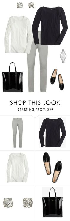 """Just Another Sarah"" by salemery on Polyvore featuring J.Crew, Tod's, Balenciaga and Michael Kors"