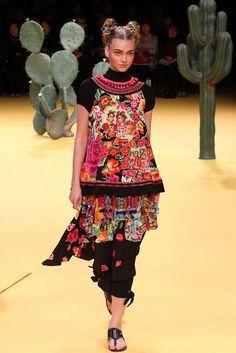 Tokuko Maeda S/S 2012. Mexican Folk