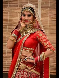 Shivangi Joshi lehenga collection from Yeh Rishta Kya Kehlata Hai