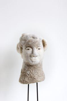 felted head, 2015 marijke eken