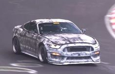 We have received few images of the 2016 Ford Mustang SVT and since those are from the test session on Nurburgring they are not of the best quality. During this session two SVT models were pushed hard on one of the most brutal tracks in world making some really nice passes.