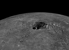 Frozen Water and Organic Material Discovered on Mercury's north pole