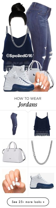 """The Sass Is Here!"" by spoiledg16 on Polyvore featuring Alice & You, David Yurman, Incoco and NIKE"