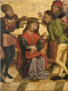 1460-75. Philadelphia Museum of Art - Collections Object : Christ Crowned with Thorns. Artist/maker unknown, Austrian (active Lower Austria or Styria), Austrian
