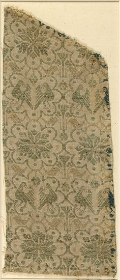 extile Date: ca. 1400 Geography: Made in probably Umbria, Italy Culture: Italian Medium: Linen Dimensions: Overall: 13 x 5 1/2 in. (33 x 14 cm)